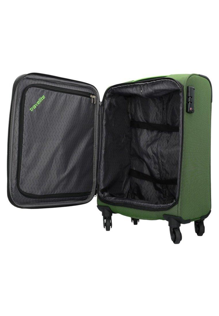 Travelite DERBY ROLLEN - Trolley - green/grün - Herrentaschen lPIz9