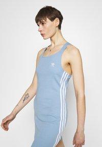 adidas Originals - RACER DRESS - Jersey dress - ambient sky - 3