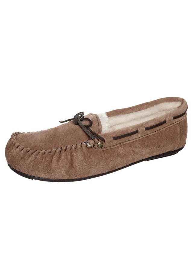 AMITY - Slippers - chestnut