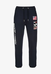 Tommy Jeans - Tracksuit bottoms - dark sapphire - 0