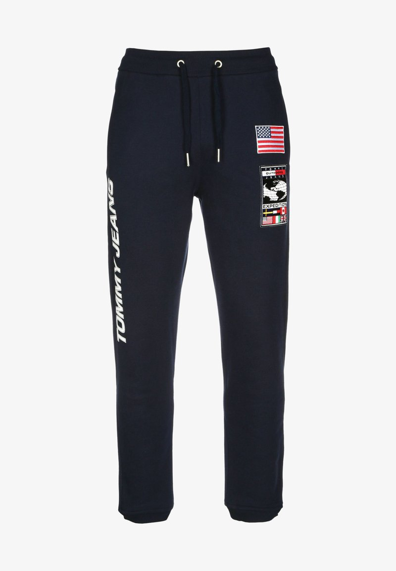 Tommy Jeans - Tracksuit bottoms - dark sapphire