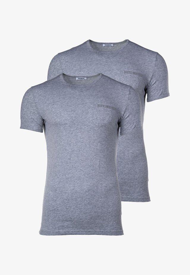 2 PACK - Undershirt - grau