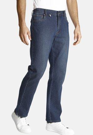 HUTO - Straight leg jeans - blue