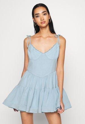 BIJOU DRESS - Denní šaty - blue