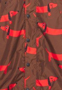 Mini Rodini - DOG PRINTED UNISEX - Outdoor jacket - red - 4