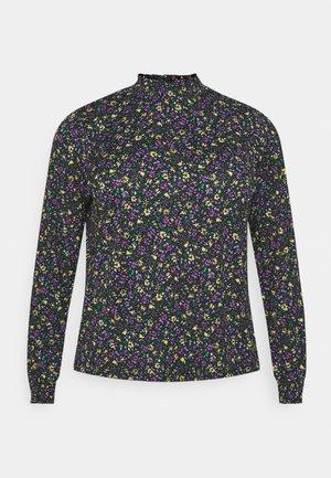 CARPELLY - Pitkähihainen paita - black lovely floral