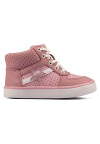 Clarks - CITY FLAKE TODDLER - Lace-up ankle boots - pink - 3