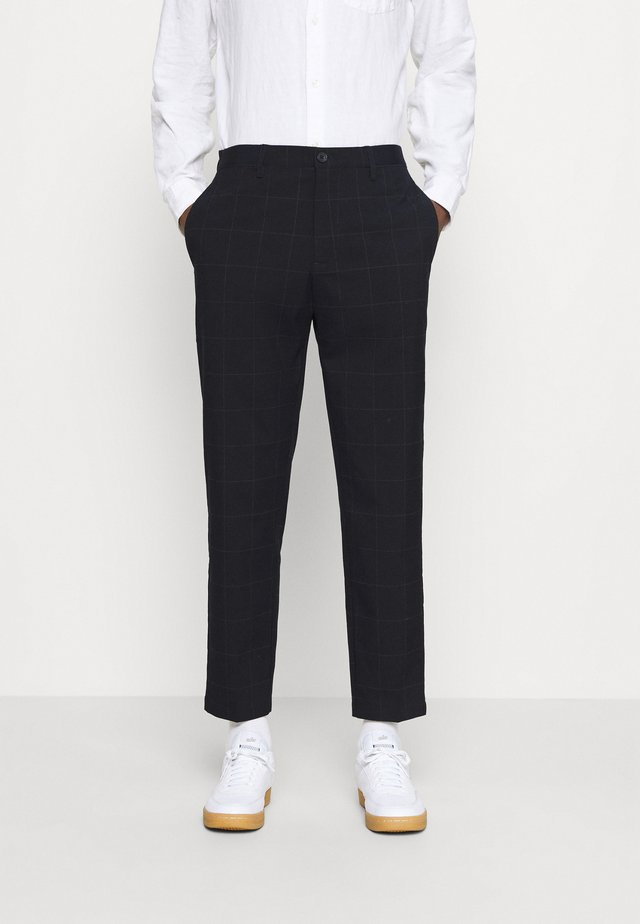 PEDER PANT - Pantaloni - navy blazer