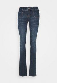 Vero Moda Tall - VMDINA  - Flared Jeans - dark blue denim - 0