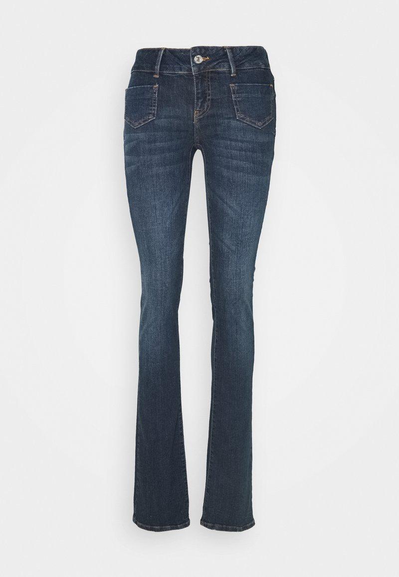 Vero Moda Tall - VMDINA  - Flared Jeans - dark blue denim