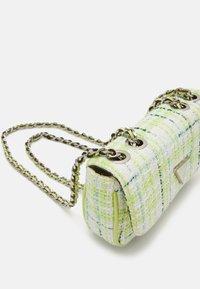 Guess - CESSILY MICRO MINI - Across body bag - lime/multi - 4