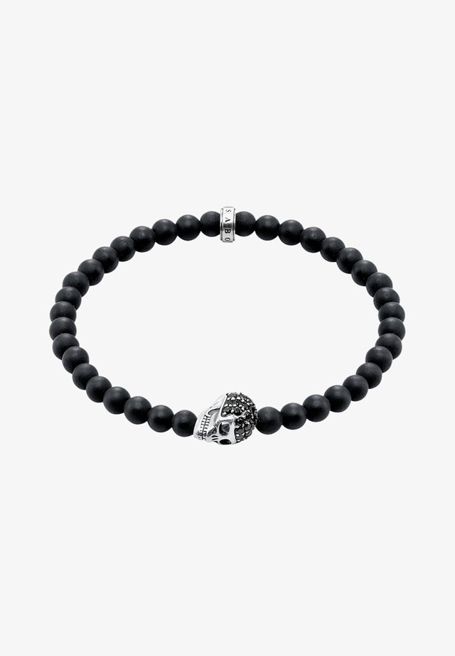 Bracelet - silberfarben/schwarz