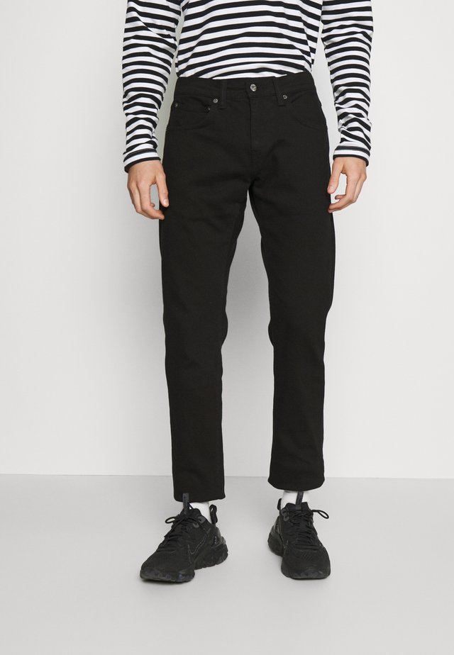 ED-55 REGULAR TAPERED - Jeans a sigaretta - black denim