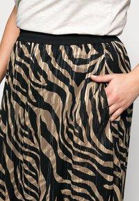 Kaffe Curve - KCVENKE SKIRT - A-line skirt - black - 4