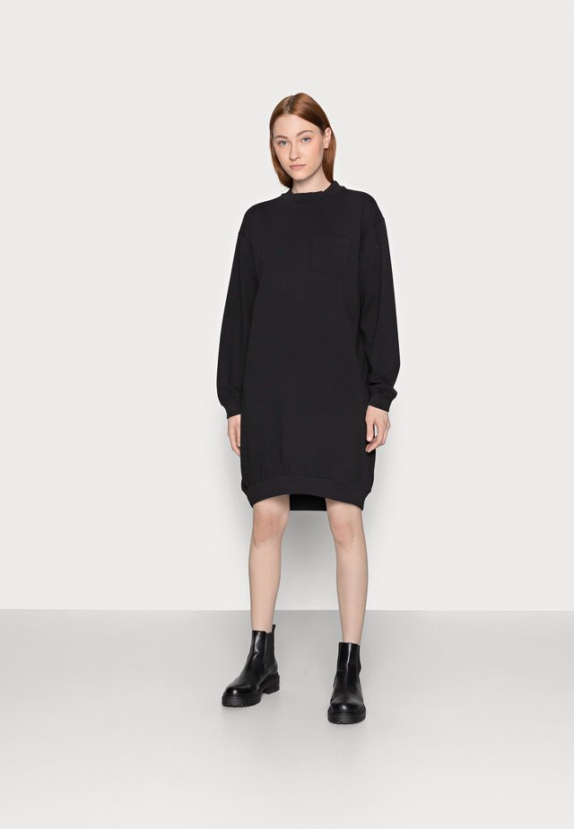 DRESS - Korte jurk - true black
