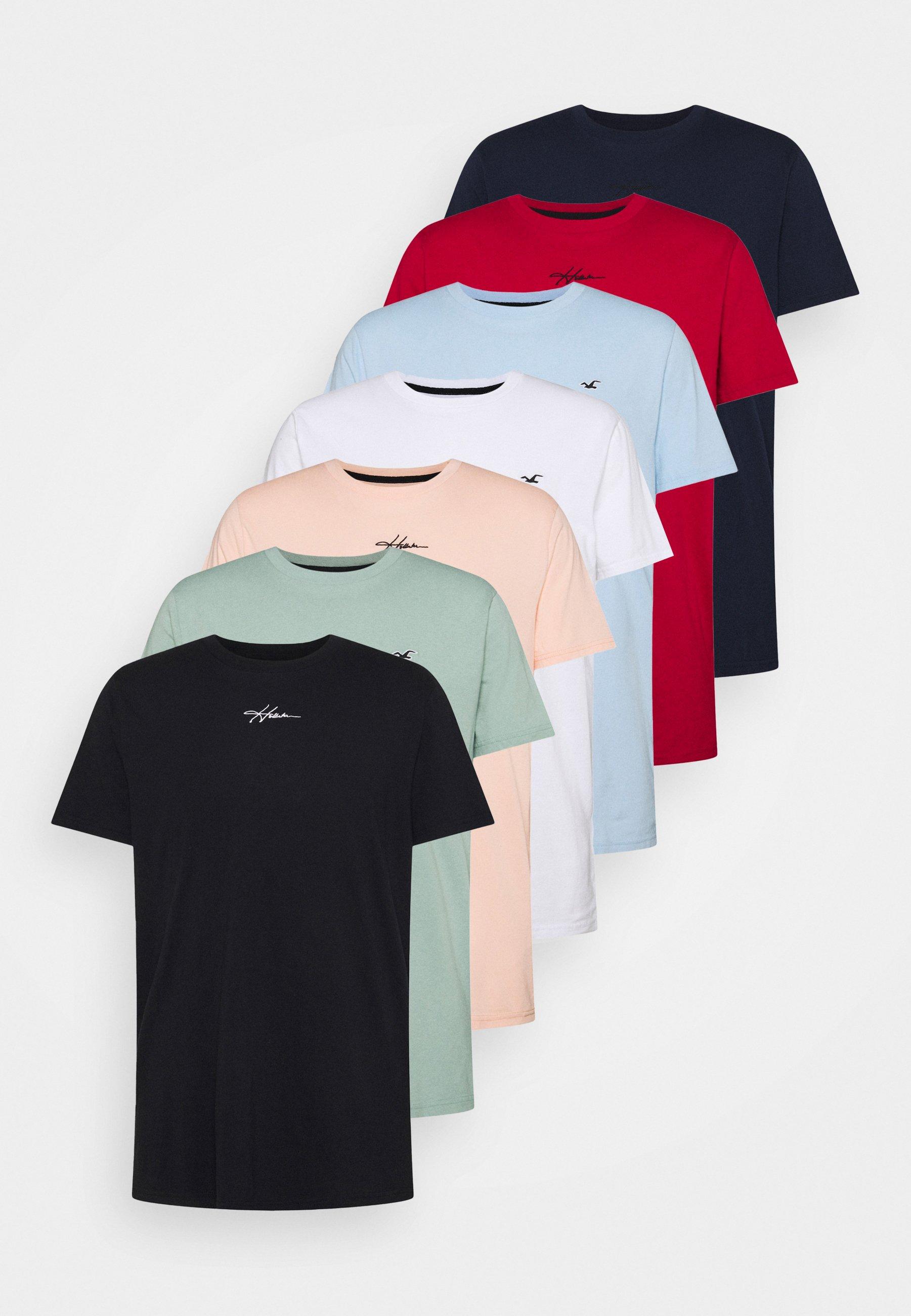 Herrer ALL WEEK 7 PACK  - T-shirts basic