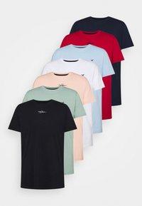 Hollister Co. - ALL WEEK 7 PACK  - T-shirt basic - multi-coloured - 0