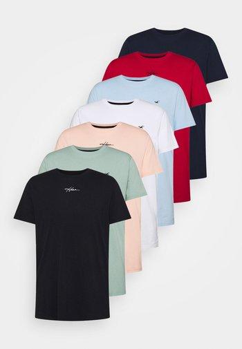ALL WEEK 7 PACK  - T-paita - multi-coloured