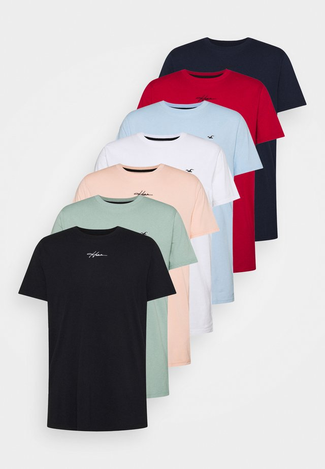 ALL WEEK 7 PACK  - T-shirt basique - multi-coloured