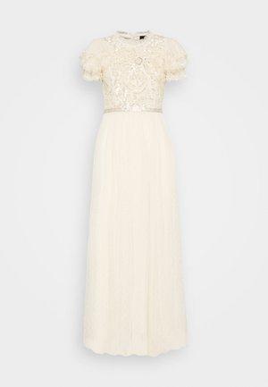 SHIRLEY RIBBON BODICE DRESS - Occasion wear - champagne