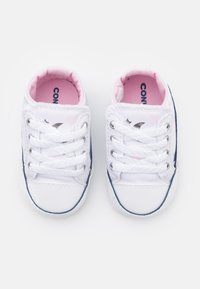 Converse - CHUCK TAYLOR CRIBSTER - First shoes - white/pink/silver - 3