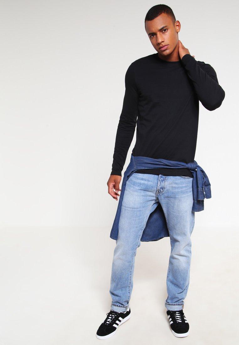 YOURTURN - 3 PACK - T-shirt à manches longues - black