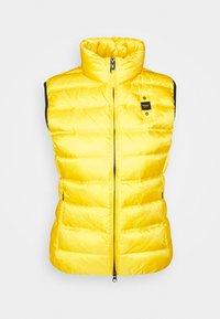 SMANICATI IMBOTTITO - Waistcoat - yellow