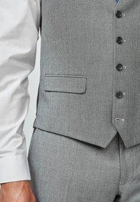 Next - TEXTURED - Suit waistcoat - grey - 3