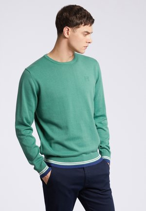BLUEPIN - Sweter - green