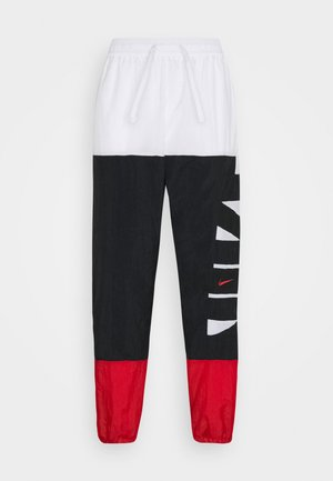 STARTING PANT - Tracksuit bottoms - white/black/university red