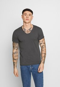 Replay - T-shirt basic - cold grey - 0