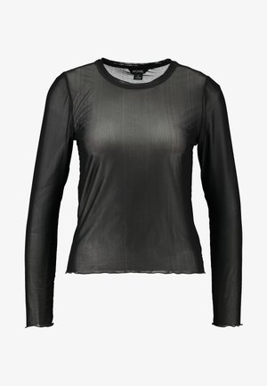 SILVANA - Long sleeved top - black