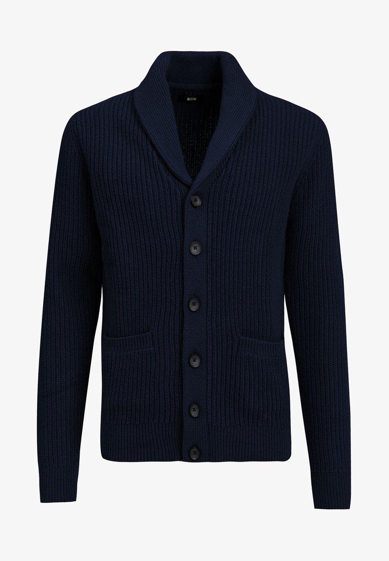WE Fashion Strickjacke - dark blue/dunkelblau lUZdIs