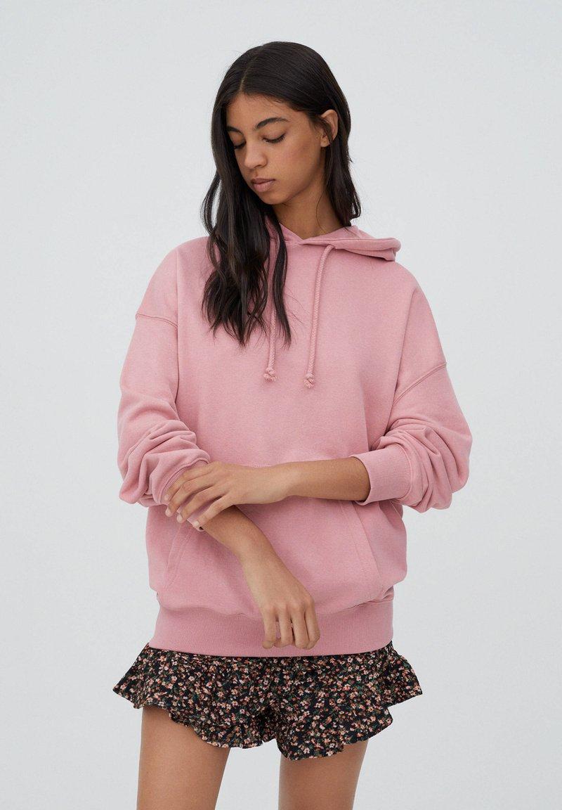PULL&BEAR - Hoodie - pink