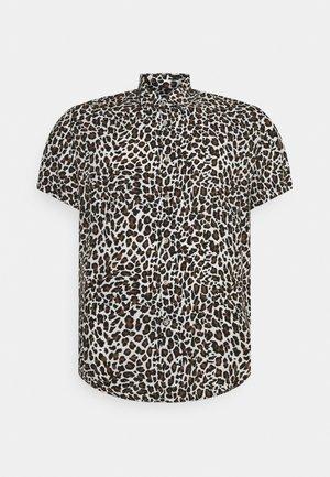 CHANCE ANIMAL PRINT - Camicia - white