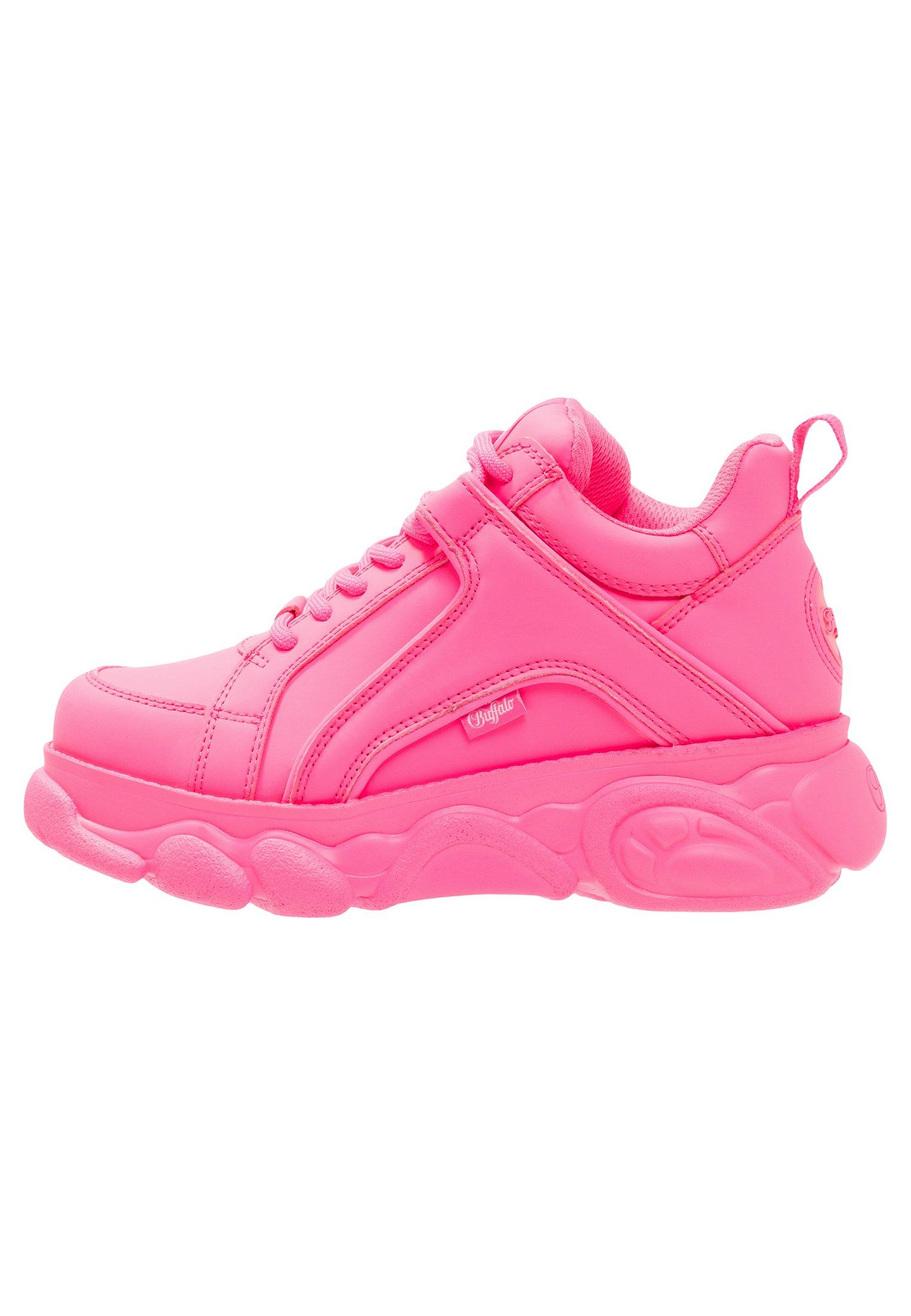 CORIN Sneakers neon pink