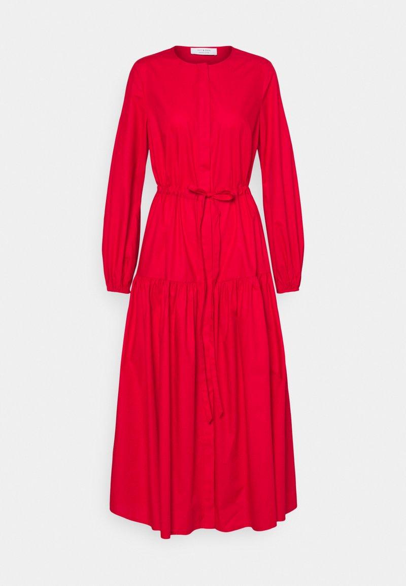 IVY & OAK - ORTENSIA - Maxi dress - garnet red