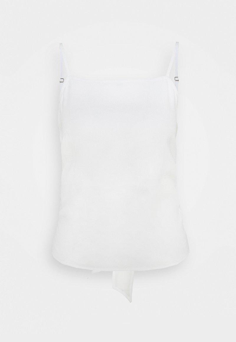 Bruuns Bazaar - LILLI ARRUME - Top - snow white