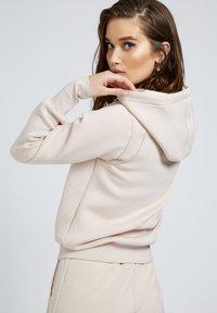 Guess - Zip-up sweatshirt - beige - 2