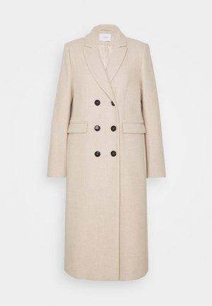DOUBLE BREASTED COAT - Classic coat - cedar wood melange