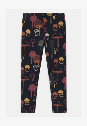 MINI ALL KIDS MUSHROOM - Leggings - dark navy