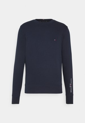 TOMMY SLEEVE LOGO SWEATSHIRT - Sweater - blue