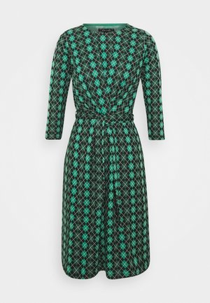 HAILEY DRESS ABERDEEN - Denní šaty - fir green