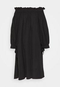 Gina Tricot - KAMILA OFFSHOULDER DRESS - Sukienka letnia - black - 4
