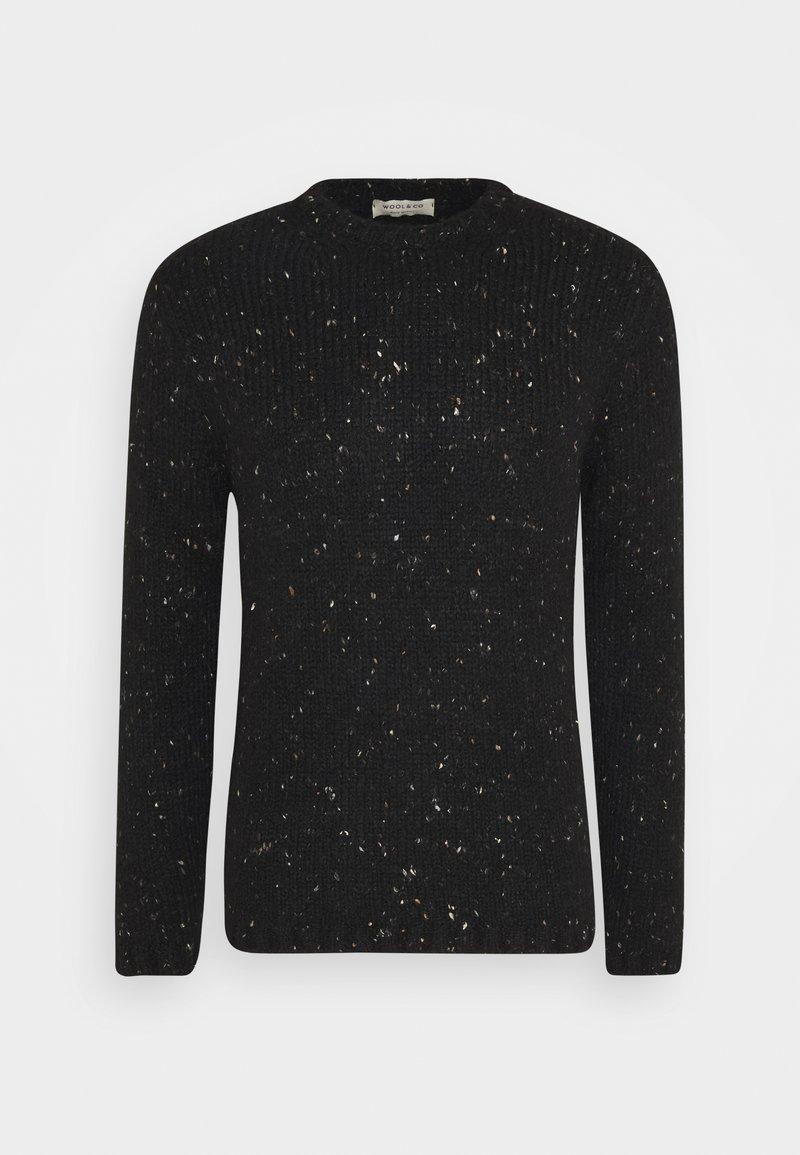 Wool & Co - Jumper - schwarz