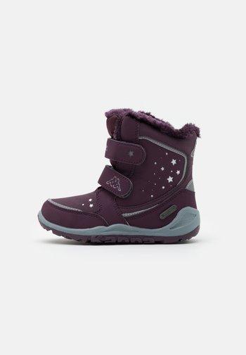 CUI TEX UNISEX - Winter boots - purple/silver