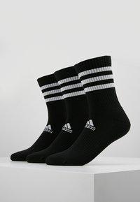 adidas Performance - 3 PACK - Sports socks - black - 0