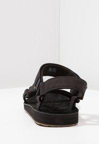 Teva - ORIGINAL UNIVERSAL - Chodecké sandály - black - 3