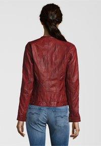 7eleven - VANESSA - Veste en cuir - red - 1