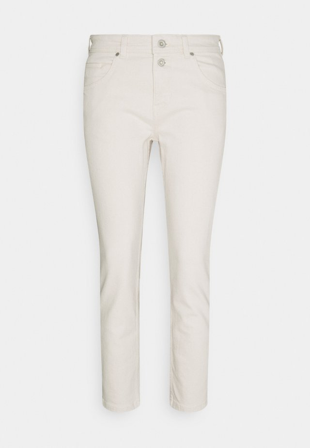 TROUSER MID WAIST BOYFRIEND - Jeans Relaxed Fit - offwhite
